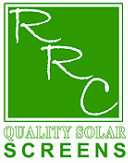 RRC Quality Solar Screens